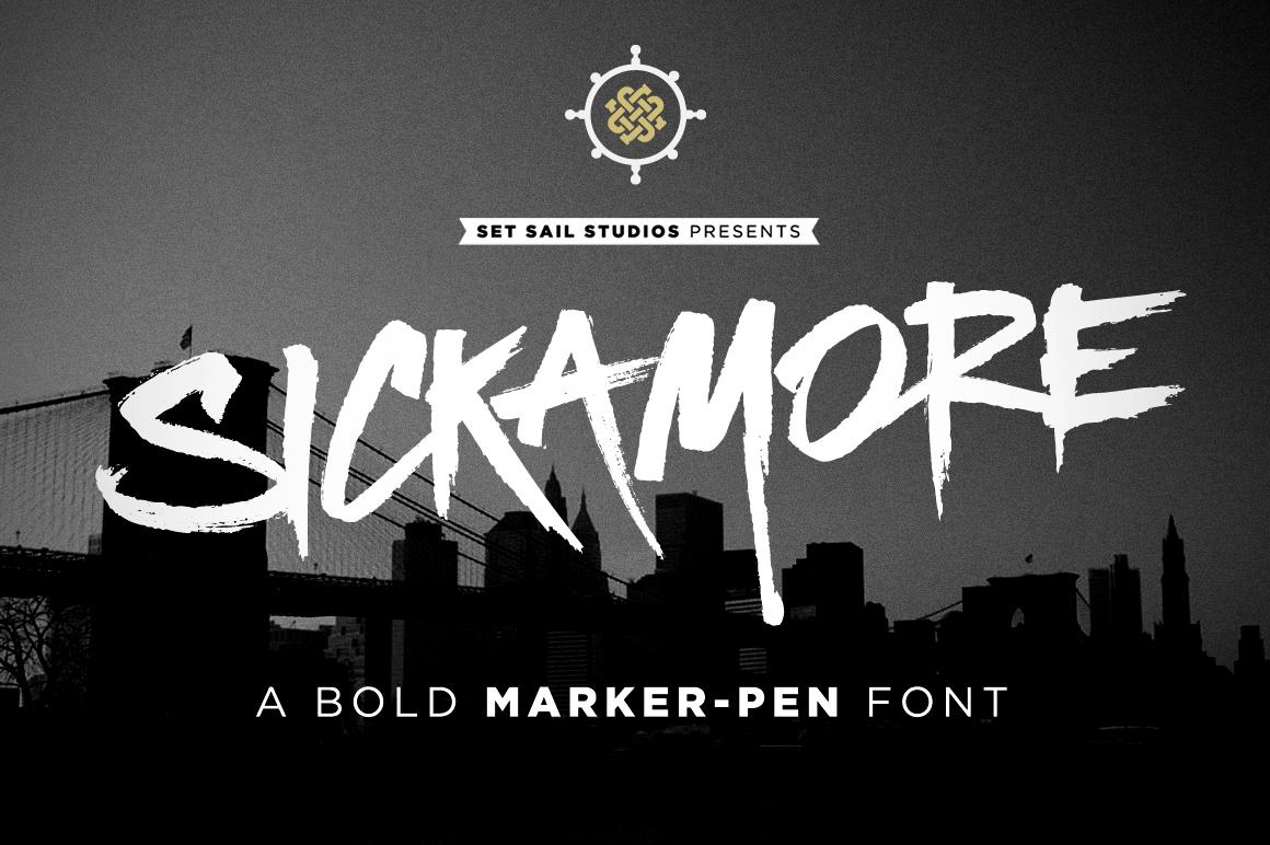 Sickamore Font by Set Sail Studios