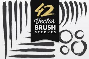 Vector Brush Strokes