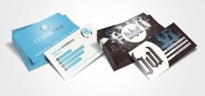 business cards design by set sail studios