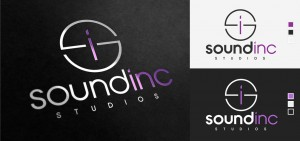 sound inc company logo design by set sail studios