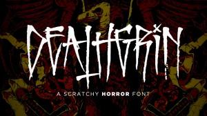 Deathgrin Font