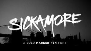 Sickamore Font