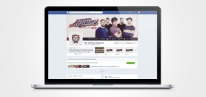 the call back academy facebook design by set sail studios