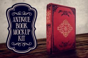 Antique Book Mockup Kit by Set Sail Studios