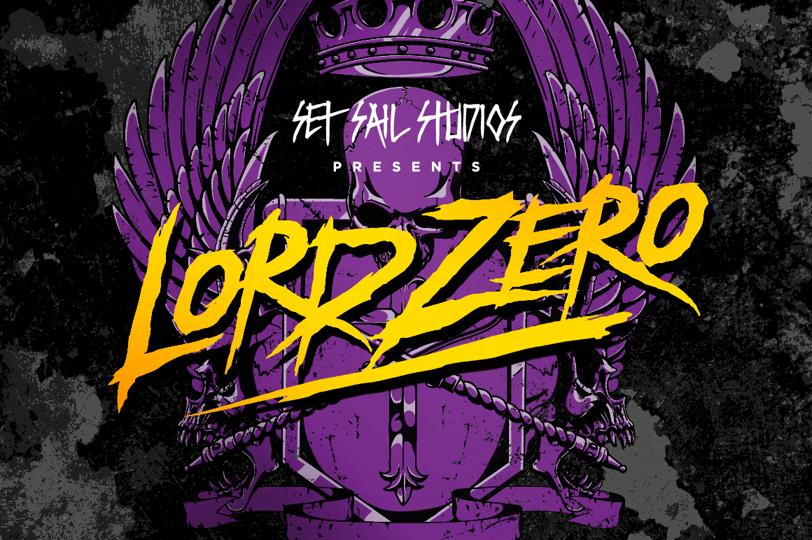 Lord Zero Font by Set Sail Studios