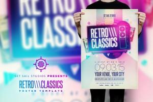 Retro Classics Poster