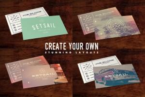 Set Sail Studios Vintage Business Card Template