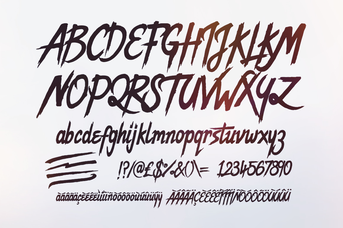 Set Sail Studios Dope Script Font