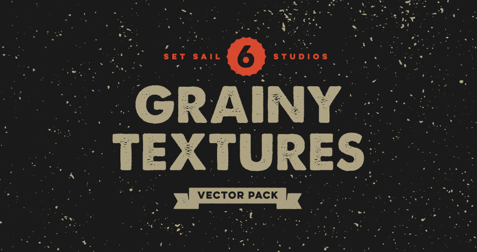 6 Free Grainy Textures by Set Sail Studios
