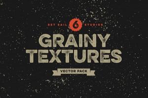 6 Grainy Textures by Set Sail Studios