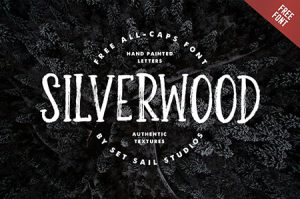 Silverwood free font by Set Sail Studios
