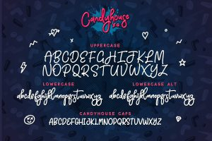 Candyhouse Font