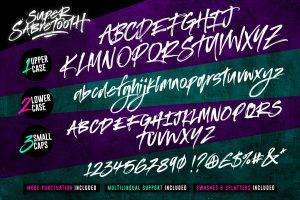 Super Sabretooth Font